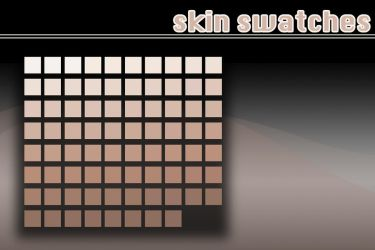 Skin swatches by Julliversum