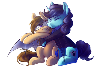 SNUGGLES! by Ghst-qn