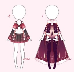 {Open 1/2} SB 10$ - Auction Outfit 297 - 298 by xMikuChuu