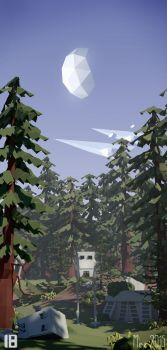Endor - by Luuno and Mezaka [Lowpoly] by Mezaka