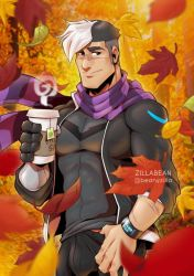 VLD: Fall on Earth - Shiro in the leaves by zillabean