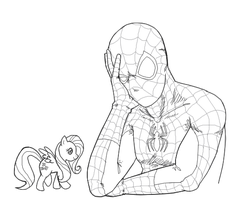 Spider-Man Can't Ponies by b-dangerous
