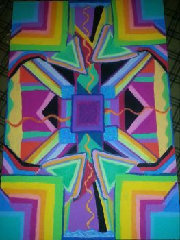 electric current kaleidoscope by PositiveInteraction