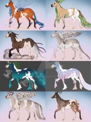 Fantasy Adoptables  by camography