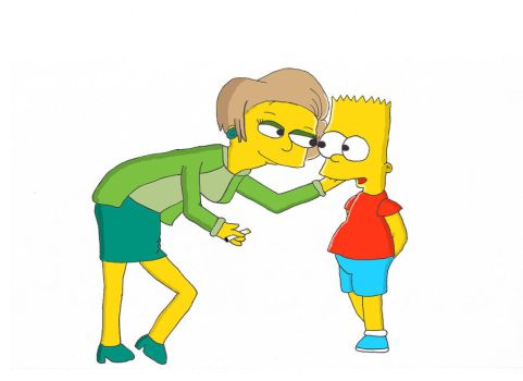 Bart and Edna by Chad-Vader
