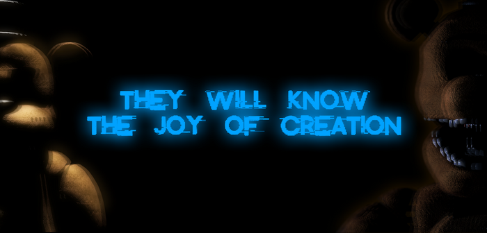 They Will Know The Joy Of Creation by ThatOneUserFromPH