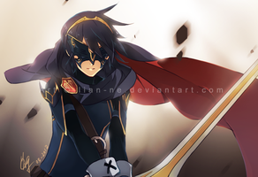 FE: Awakening: Marth by lian-ne