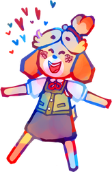 isabelle!!!!!!!!!!!! by theultimatenootnoot