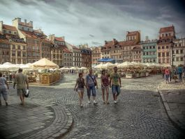 Old Town Square in Warsaw by HeretyczkaA