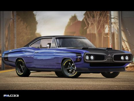 Dodge Super Bee 1970 by pacee
