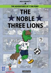 The Noble Three Lions by jwolforange13