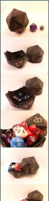 Big D20 Dice Holder by icia