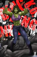 She Hulk by Akecheta