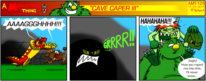 AMT - Cave Caper III by BluebottleFlyer