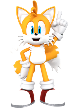 Sonic and Friends Tails the Fox by JaysonJean