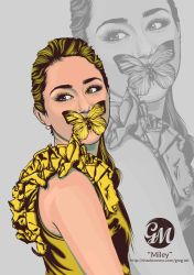 Miley Cyrus by greg-arts