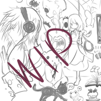 PewDiePie: The Witch's House WIP by milkie-nommi