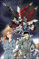 Space Mecha- Red by Aricosaur