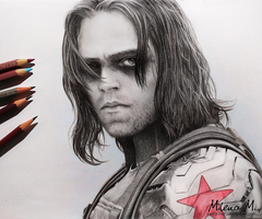 The Winter Soldier by Mella-M91