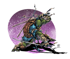 TMNT Leonardo by AlonsoEspinoza