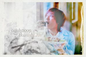 happy birthday . akanishi jin by tekhniklr