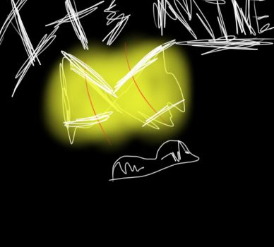 lazy two second drawing \_( -_- )_/ by BWolf17