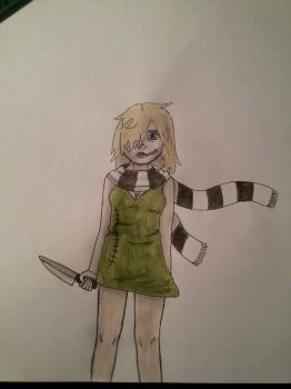 Caite (colored) by TheOperatorsShadow