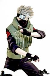 Cartoon style Kakashi cosplay by Suki-Cosplay