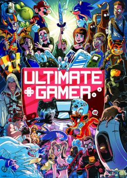 Ultimate Gamer - EB Games by mmishee