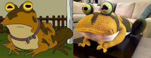 Hypnotoad Side by Side by smapte