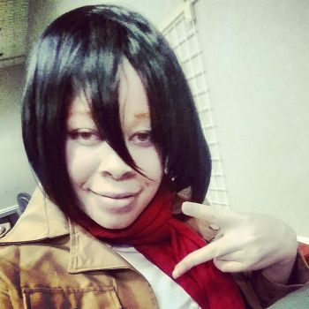 Mikasa Cosplay 2 by blackassassins