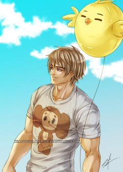 APH: Excited to see him again by xiaoyugaara