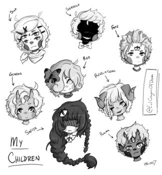 MY CHILDREN!!!!!  by EvilCrayonsOfDoom