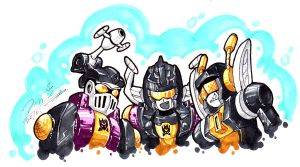 SD Insecticons by Ccamang