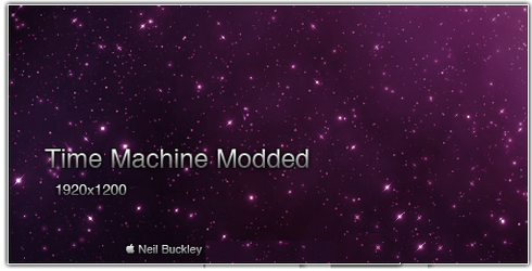 Time Machine Modded by NeilBuckley
