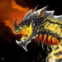 Deathwing by LupusDream