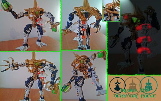 Bionicle G1:Irnakk (Modified) by Trimondius01