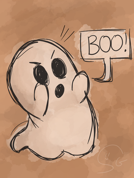 Scribbly Ghost by synthetic-ghost