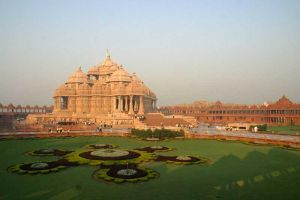 Akshardham temple by dnbarman