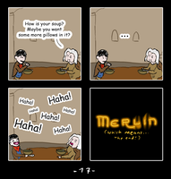 A typical Merlin episode - 17 by Xyrten