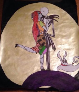 Jack and Sally with zero  by KPRITCHETT14