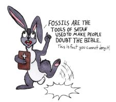 Creationist Bible Thumper by MsMergus