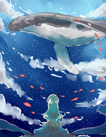 Sea and Sky by tomoecchi