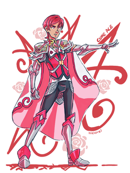 Male Cure Ace by hielorei