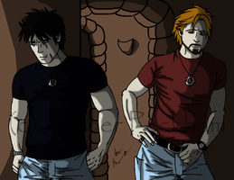 Memphis and Crasious WIP 6 by The-Bone-Snatcher