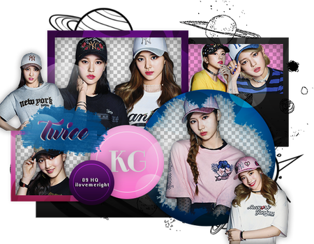 TWICE|PACK PNG by KoreanGallery