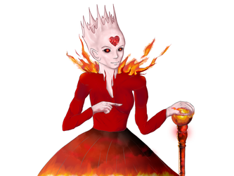 Summer - Queen of Hearts and Fire by NikaStryx