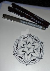 Mandala tattoo design #4 by MadPorcupine