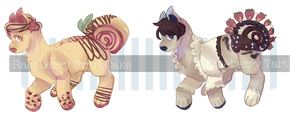 { Bakery Tray Auction: Fruit Cakes }[CLOSED] by SweetMacaronAdopts