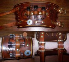 Steampunk Cuff 8 by Steampunked-Out